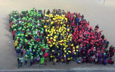 #SENEGALEKOALTXORRA  |  Senegaleko  ikurrina  erraldoia