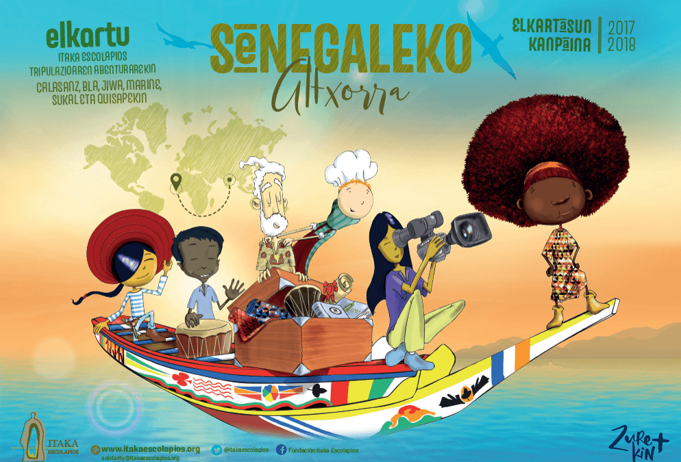 ELKARTASUN  KANPAINA   Senegaleko  altxorra